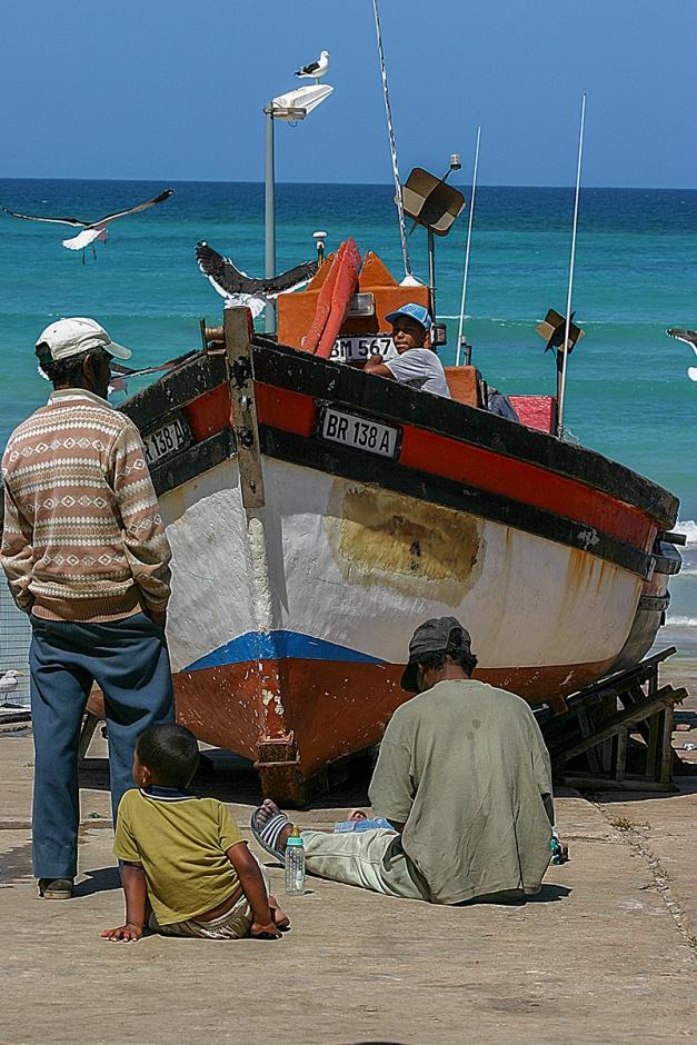 Kassiesbaai fisherman's boat